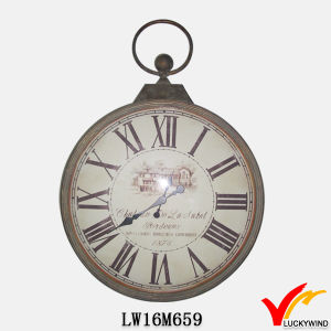 Vintage Antique Handmade Large Home Hanging Metal Decorative Wall Clock pictures & photos
