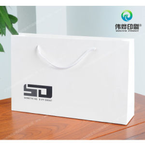 Landscape Coated Paper Printing Fashion Gift Bag pictures & photos