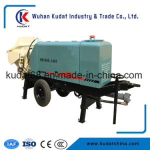 40m3/H Electric Trailer Concrete Pump Hbt40e pictures & photos