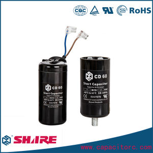 AC Motor Capacitors Non-Polarized CD60 Capacitor pictures & photos