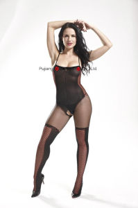 Ladies Sexy Club Wear Fish Net Body Stocking 8870 pictures & photos
