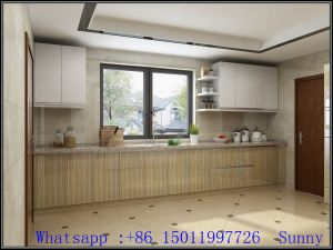 High Glossy MDF Acrylic Kitchen Cabinets (factory directly) pictures & photos