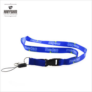 ID Card Holder Lanyard with Heat Transfer Printing pictures & photos