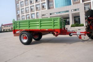Frame Steel Material Farm Trailer Is Suitable for 12-25HP Tractor on Hot Sale pictures & photos