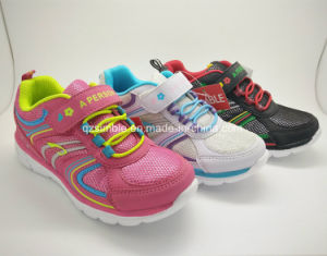 Summer Breathable Children Running Sport Shoes pictures & photos