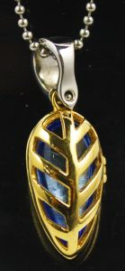 Silver Gold Jewelry Crystal Glass Locket Pendants Wholesale pictures & photos