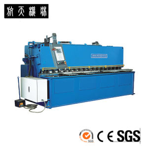 Hydraulic Shearing Machine, Steel Cutting Machine, CNC Shearing Machine HTS-4010 pictures & photos