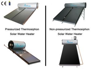 Solar Energy Pressurized Thermosiphon Solar Water Heater pictures & photos
