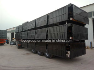 China Cargo Transport Stake Semi Trailer pictures & photos