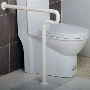 Floor to Wall Grab Bars with Fixed Leg Support pictures & photos