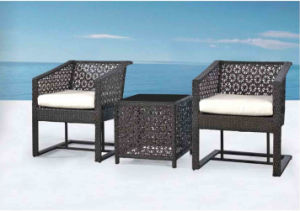 Outdoor Garden Leisure Furniture Rattan Table Rattan Chair pictures & photos