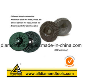 Plastic Backing Grinding Wheel pictures & photos