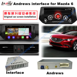 Android GPS Navigation Video Interface for Mazda 6 Atenza (MZD connection) pictures & photos
