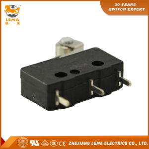 Lema Black Straight PCB Quick Connect Terminal Kw12-2s Micro Switch pictures & photos