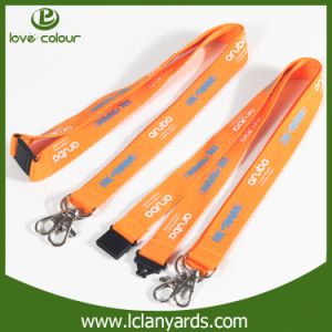 Safety Buckle Lanyard with Double Ended Exihibition Screen Printing