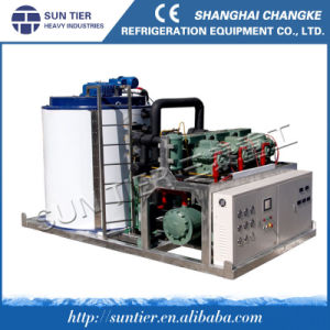 Air Cooling Flake Ice Machine for Large Stainless Steel pictures & photos