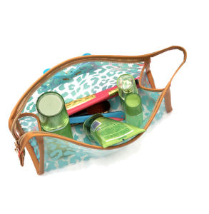 Factory Fashion Multi Pattern Waterproof Makeup Bag PVC Cosmetic Bag Transparent pictures & photos