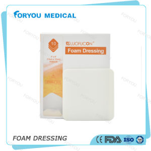 Foryou Medical Wound Healing Sheet Diabetic Wound Care Dressings Sterile Advanced PU Foam Dressing pictures & photos