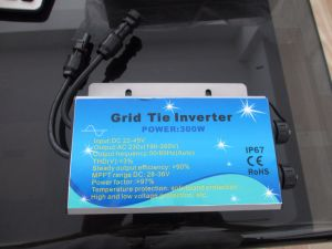 Waterproof 260W Micro Grid Tie Inverter pictures & photos