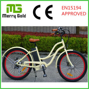 250W Brushless with Gear Ebike Beach Cruiser Electric Bike for Ladies pictures & photos
