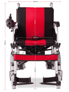 Topmedi Medical Equipment Folding Electric Power Electronic Wheelchair China pictures & photos