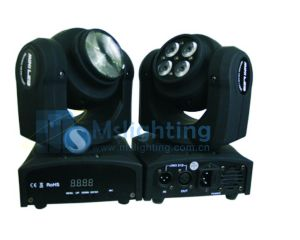 New Arrival 1*10W+4*10W RGBW 4in1 LED Beam Light pictures & photos