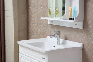 Deluxe Solid Wood Bathroom Vanity Cabinet pictures & photos