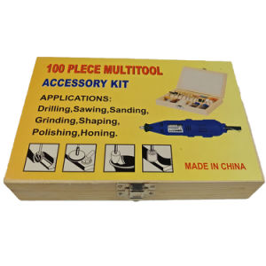 Woodbox Packing 100PC Multitool Accessory Kit pictures & photos