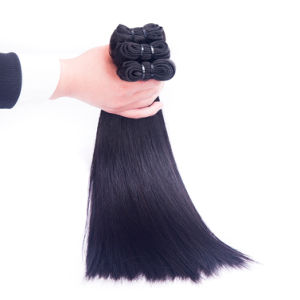 Premium Remy Peruvian Human Hair Weaving Silky Straight 14inches pictures & photos