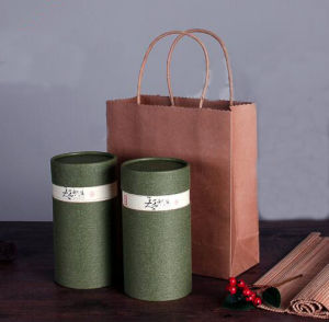 Paper Tube Packing Boxes with Custom Design pictures & photos