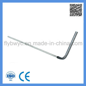 S Type Ceramic Tube L Shape Probe Thermocouple with High Temperature pictures & photos