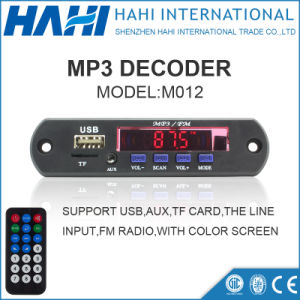 MP3 USB SD/TF Card Audio Player Decoder Board Promotion-M012 pictures & photos