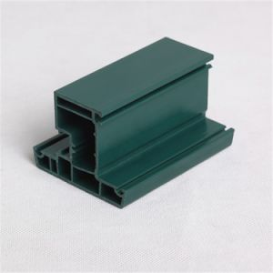 Whole Body Green PVC Profile for Windows and Doors pictures & photos