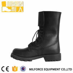 Black Comfortable Mens Boot Military Tactical Combat Boot pictures & photos