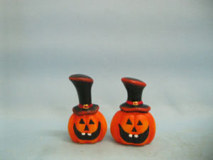 Halloween Pumpkin Ceramic Arts and Crafts (LOE2382-A6.5) pictures & photos