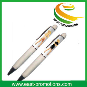 Fashionable Plastic Liquid Fat Floating Ball Pen pictures & photos