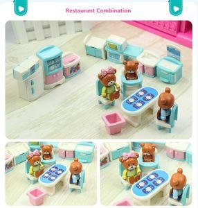 Little Bear Mini Play House Set Children Toys Plastic Kids Toys