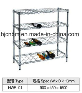 Carbon Steel Chrome Wire Rack for Beverage Storage pictures & photos