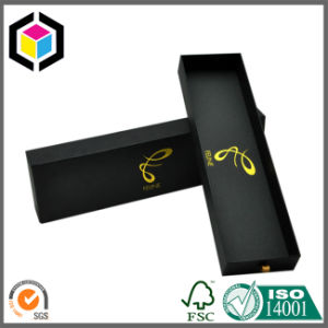 Hair Extension Rigid Cardboard Gift Paper Box with Window pictures & photos