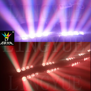 Spider Moving Head Beam 8X10W RGBW 4in1 LED Stage Lighting pictures & photos