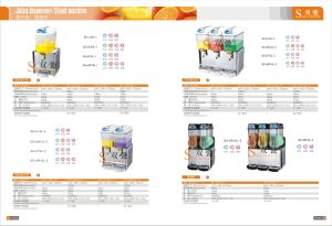 1 Tank Commercial High Quality Juice Dispenser with Fruit pictures & photos
