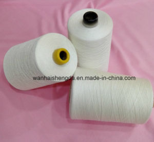 High Tenacity Polyester Cotton Yarn, Ne20/2 Cotton Polyester Twist Yarn for Weaving pictures & photos