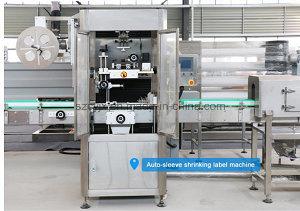 Wonderful PVC Sleeve Labeling Machine / Equipment / Line pictures & photos