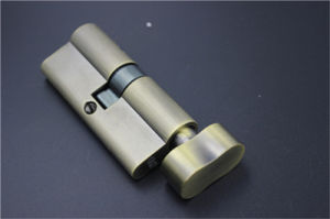 Hot Sell Ab All Brass Single Open Cylinder Lock Skt-C13 pictures & photos