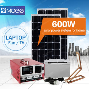 Morege 600W Solar Energy System with Combined Inverter and Controller pictures & photos