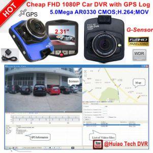 "Cheap 2.4"" Car Black Box Dash Camera DVR with Full HD1080p 5.0mega Car DVR, G-Sensor, WDR, GPS Tracking, Parking Control, Car Digital Video Recorder DVR-2402 pictures & photos"