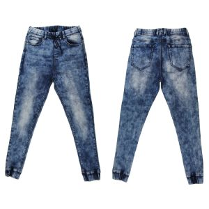 High Quality Men′s Knit Popular Straight Denim (MY-005) pictures & photos