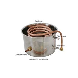 Kingsunshine 18L/5gal Home Use Alcohol/Water/Hydrolat Mini Distiller pictures & photos
