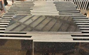 Polished Black Galaxy Tile, Flooring Tile, Granite Tile for Buliding pictures & photos