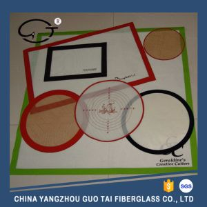 Hot Sale Non Stick Food Grade Silicone Baking Mat (Silicone Baking Sheet) pictures & photos